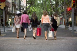 dia de compras despedida de soltera