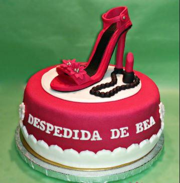 tarta para despedida de soltera